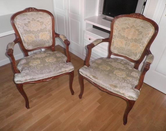 Los modelos de nuestros clientes butaca luis xvi recorte for Modelos de sillas clasicas