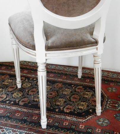 Nuevos modelos silla cl sica luis xvi valo 4 patas - Sillas luis xvi baratas ...